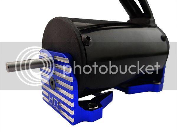 [NEW] Support moteur Aluminium/Aluminum mount motor X-Maxx par Hot Racing #XMX38X06 HR%20xmx38x06