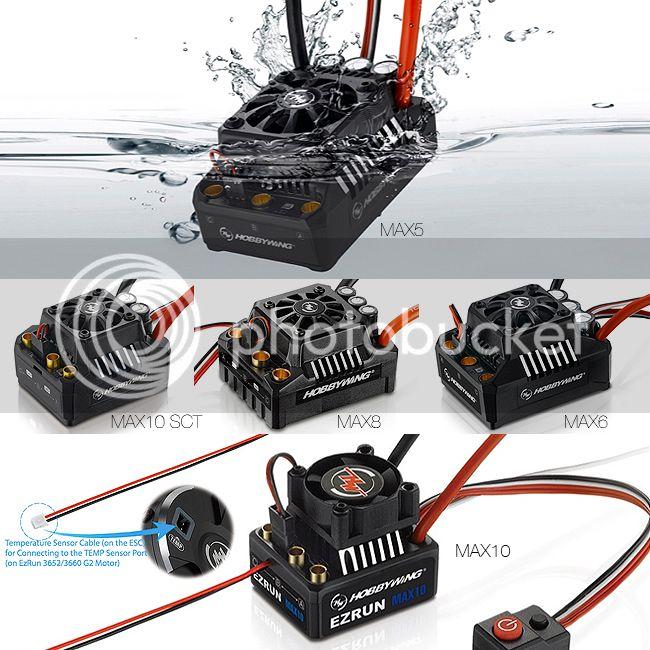 [NEW]ESC EZRUN MAX5/MAX6/MAX8/MAX10 SCT WATERPROOF HobbyWing HobbyWing%20EzRun%20Ok