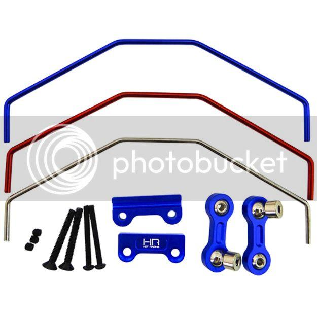 ]Barre Anti Roulis pour X-Maxx par Hot Racing Aluminum Sway Bar Front/Rear XMX311X06 135506