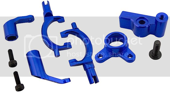 [NEW] Bras pour tringlerie & blocage de diff T-Lock de Summit par Hot Racing SUM11DF06 - SUM11DB06 139090