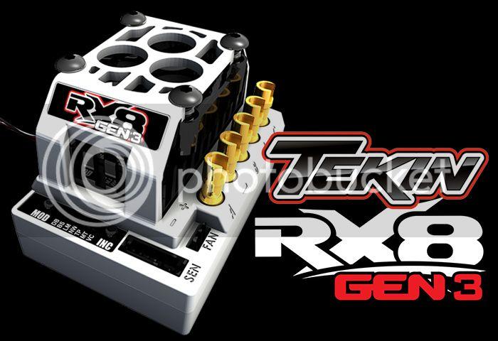 [NEW]ESC RX8 GEN3 par Tekin RX8