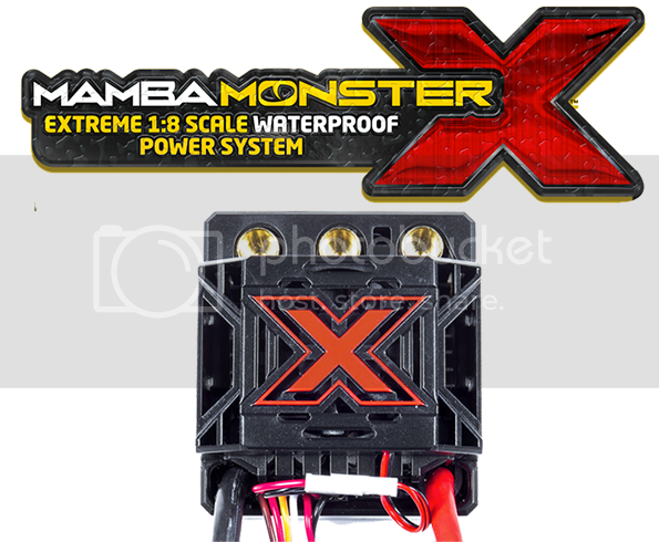 [NEW] ESC/CONTRO Mamba Monster X 1/8 X