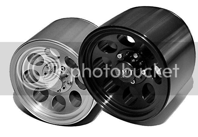 "[New] Jantes/Jante Mickey Thompson Classic II 3.8"" 17mm par RC4WD JantesRC4WD"