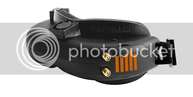 [NEW]Casque Focal FPV sans fil/Focal FPV Wireless Headset with Diversity par Spektrum Spmvr2500-1