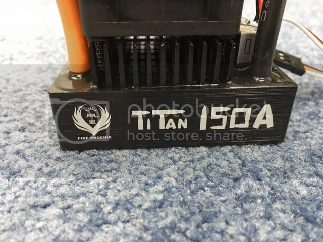 [NEW]ESC 1/8 & 1/5 TITAN 150A/950A Waterproof avec et sans capteur Sensored Hobbypower Titan150A%201