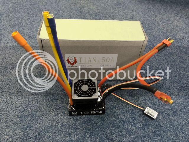 [NEW]ESC 1/8 & 1/5 TITAN 150A/950A Waterproof avec et sans capteur Sensored Hobbypower Titan150A%203