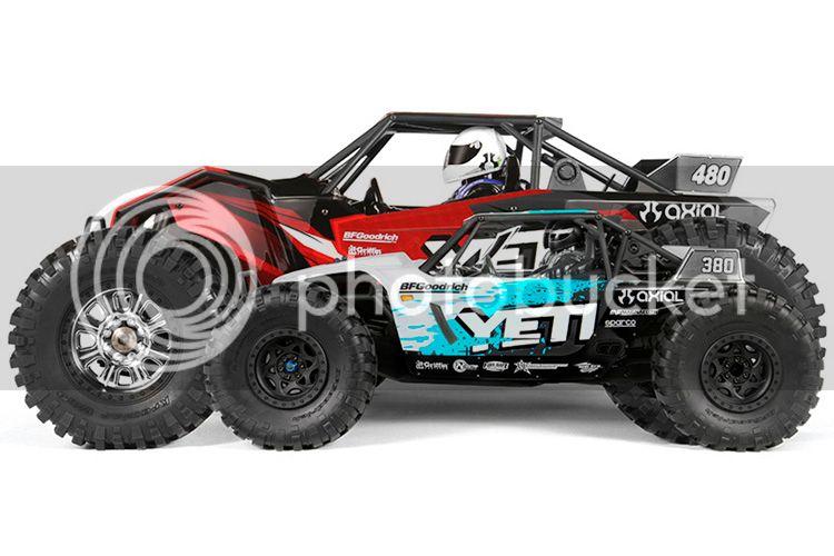 Carro Yemmit XL sur Summit 1/8 Axial-yeti-xl-14