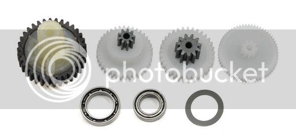 [NEW]Engrenage en métal pour Servo X-Maxx 2085/Metal Servo Gear Servo par Hot Racing XMX24MG Traxxas-set-de-pignons-pour-servo-2085-2087