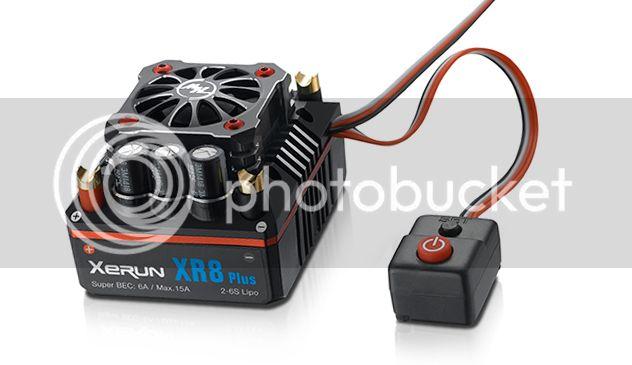 [FUTURE NEW] ESC Xerun XR8 Plus 1/8 par HobbyWing XR8_PLUS_1