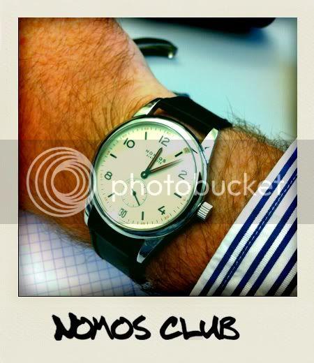 nomos club ou alpina regulator ? Photo