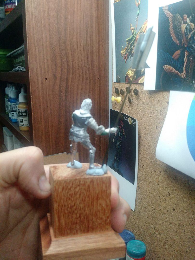 Guilhaume de Martel empunhando a Auriflama - Batalha de Agincourt - 1415 IMG_20151113_195509159_zpsxzf2pd8l