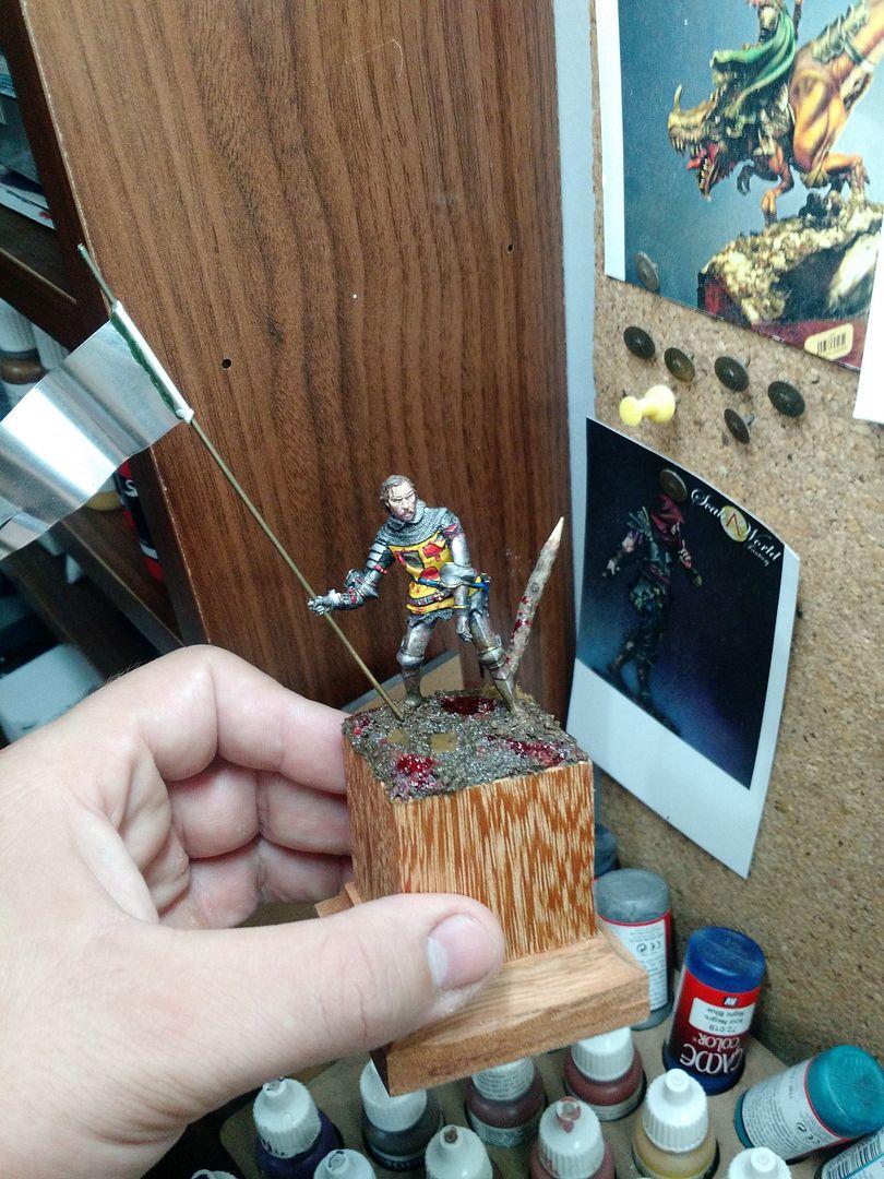 Guilhaume de Martel empunhando a Auriflama - Batalha de Agincourt - 1415 IMG_20151228_091706913_zpsuxntkvkq