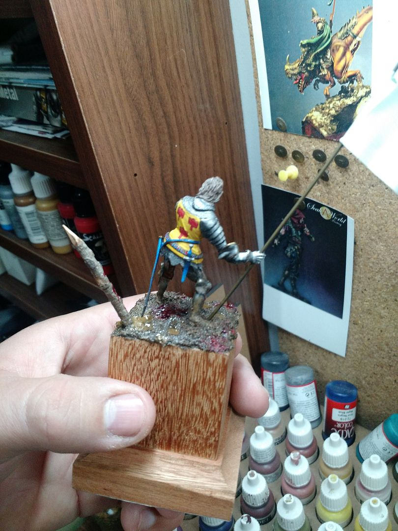 Guilhaume de Martel empunhando a Auriflama - Batalha de Agincourt - 1415 IMG_20151228_091719343_zpsk4okbhg9