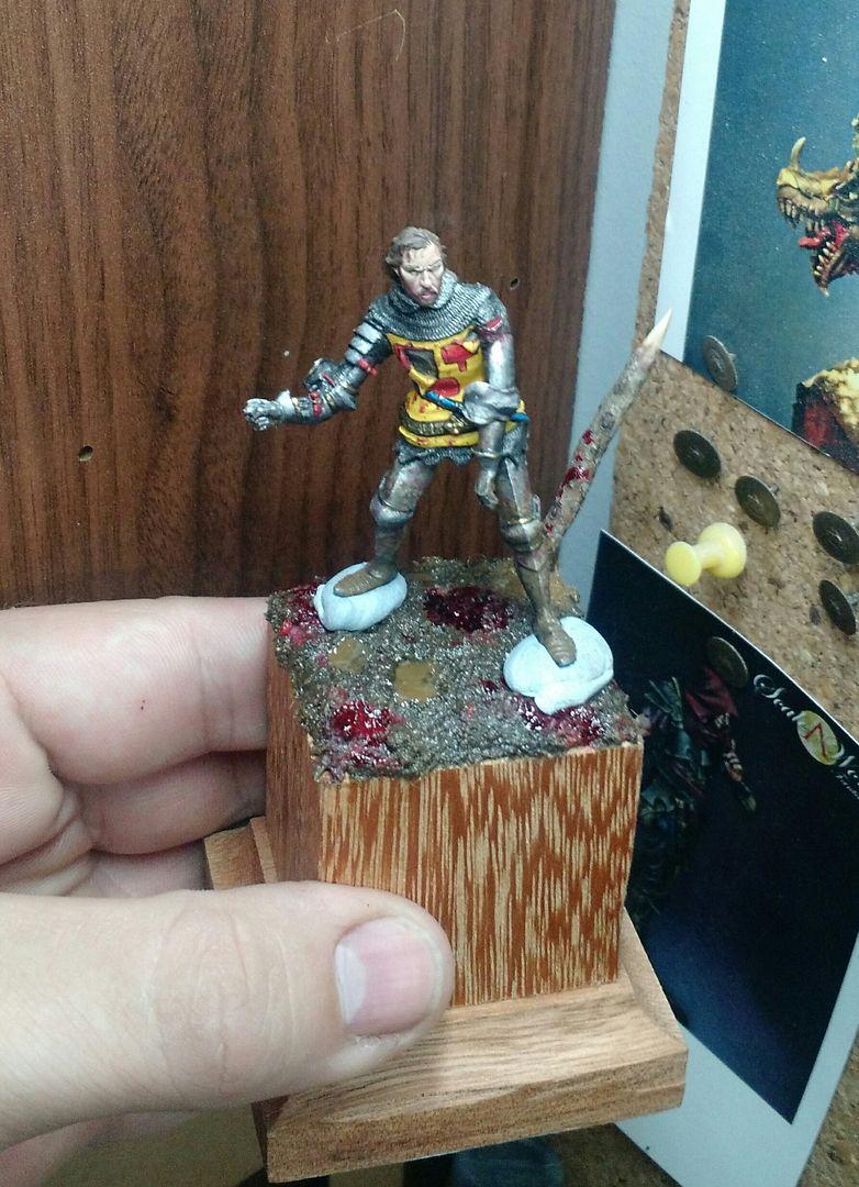 Guilhaume de Martel empunhando a Auriflama - Batalha de Agincourt - 1415 _20151226_161945_zpsitmd80pe