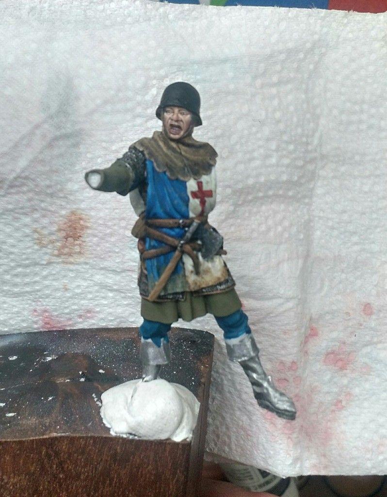 Arqueiro inglês - guerra dos 100 anos.  _20160108_141638_zpsz6h2tzqd