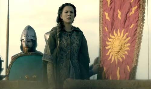 Guilhaume de Martel empunhando a Auriflama - Batalha de Agincourt - 1415 Images%2064_zpshjnzl1pp
