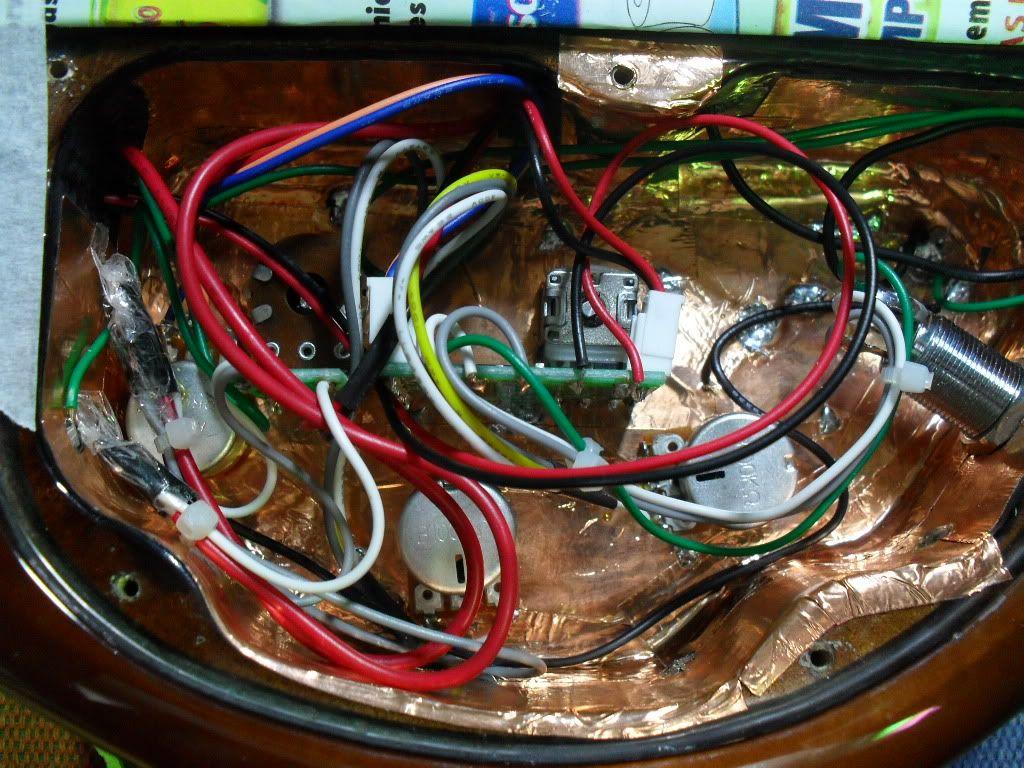 Ibanez GSR396 com circuito Artec SE3P Depois-1