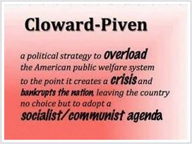 We sometimes wonder how it is that Progressives find it so easy to lie and think nothing of it.  Saul Alinsky. ClowardPiven