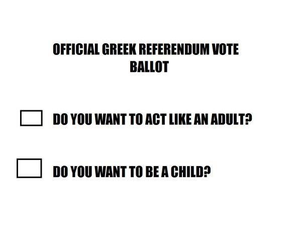 As with Progressives in America, GREECE VOTES AGAINST AUSTERITY. Greek20Ballot_zpsyrzfwogr