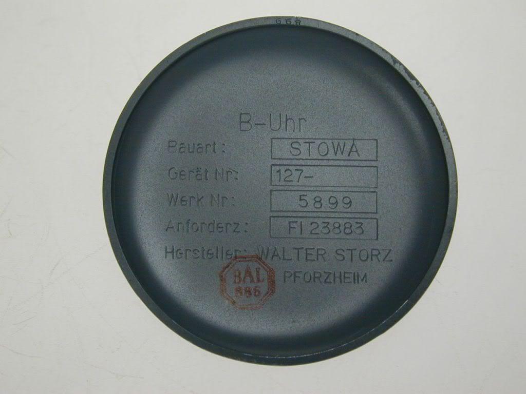 stowa - Stowa Flieger B-Uhr Vintage Stowa1