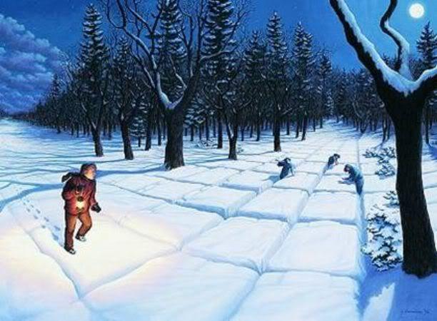 Cae la nieve NieveLotesReparticionGonsalves