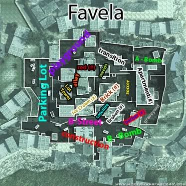 mw2 callouts FavelaCallout