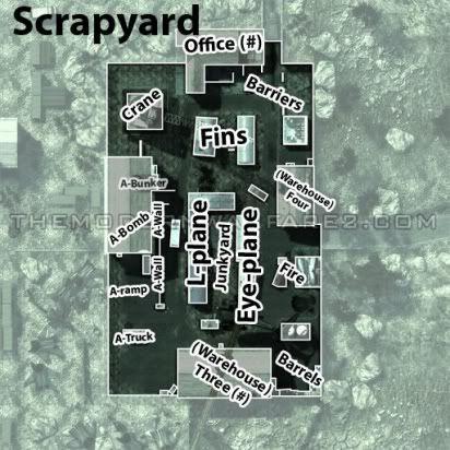 mw2 callouts ScrapyardCallouts