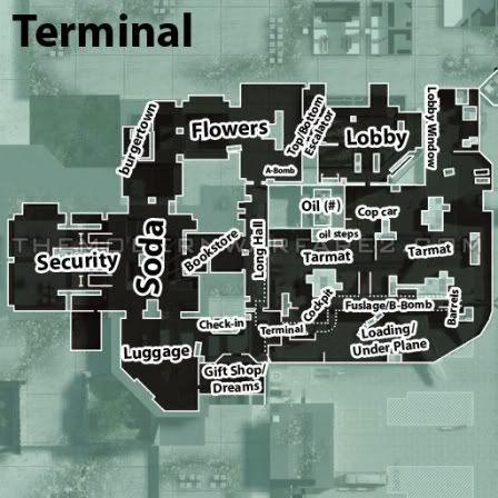 mw2 callouts Terminalcalloutnames