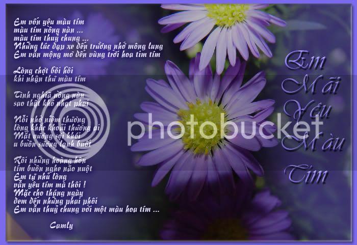 Khung trời bình yên -Tranh thơ Camly PLT_emmaiyeumautim