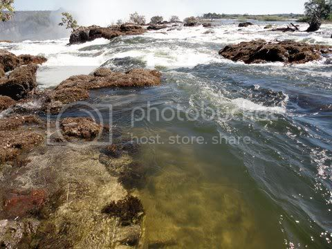 victoria falls, end of zambezi river Pictures, Images and Photos