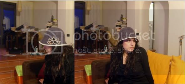 Cappelli in feltro fatto a mano- con tesa Collage