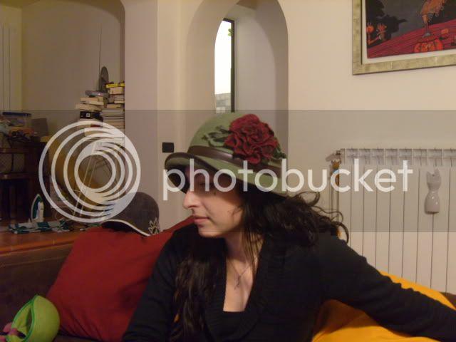 Cappelli in feltro fatto a mano- con tesa SS100605