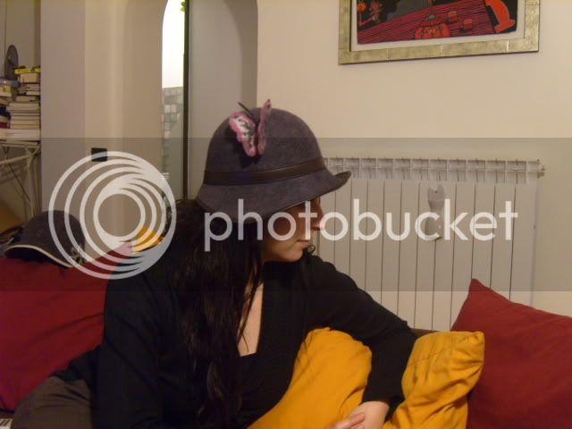 Cappelli in feltro fatto a mano- con tesa SS100608