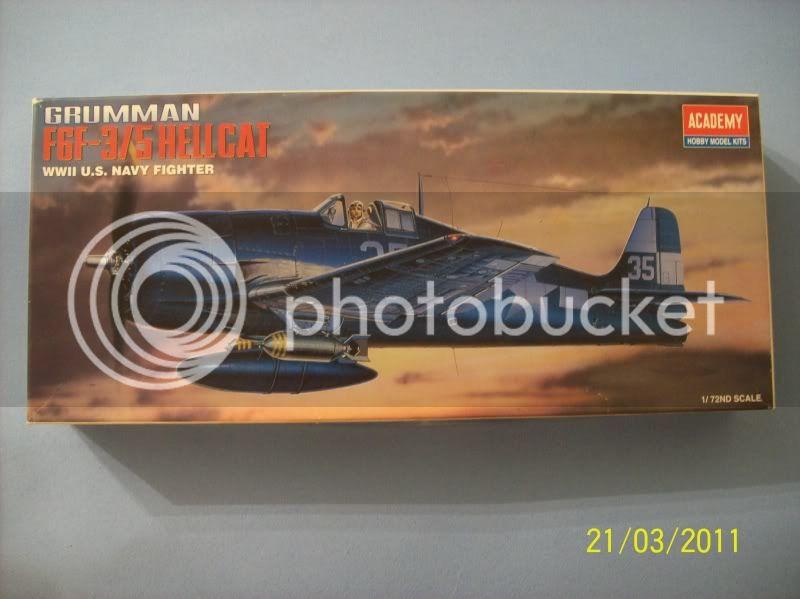 Grumman F6F-5 Hellcat MINSI III - Academy 1/72 Hellcat
