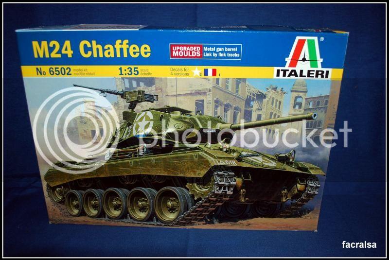Dos incorporaciones el M42 Chaffe y el M110A2 Obus Italeri 001