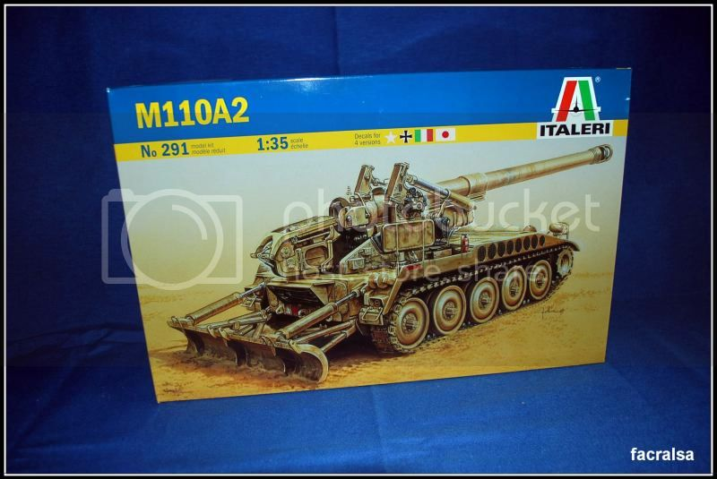 Dos incorporaciones el M42 Chaffe y el M110A2 Obus Italeri 003