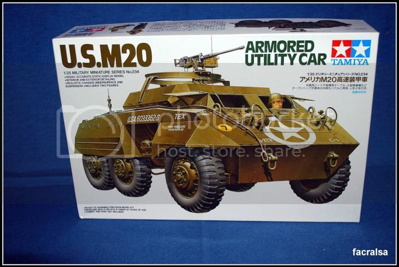 M20 Armoured Utility Car (Tamiya 35234) 35234M20USA
