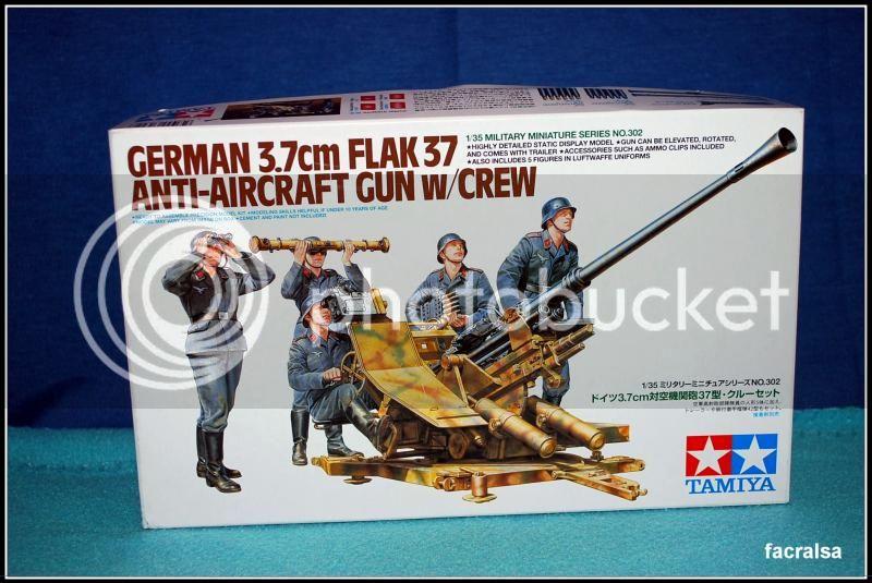 German 3,7cm Flack 37 (Tamiya 35302) 35302Tamiya