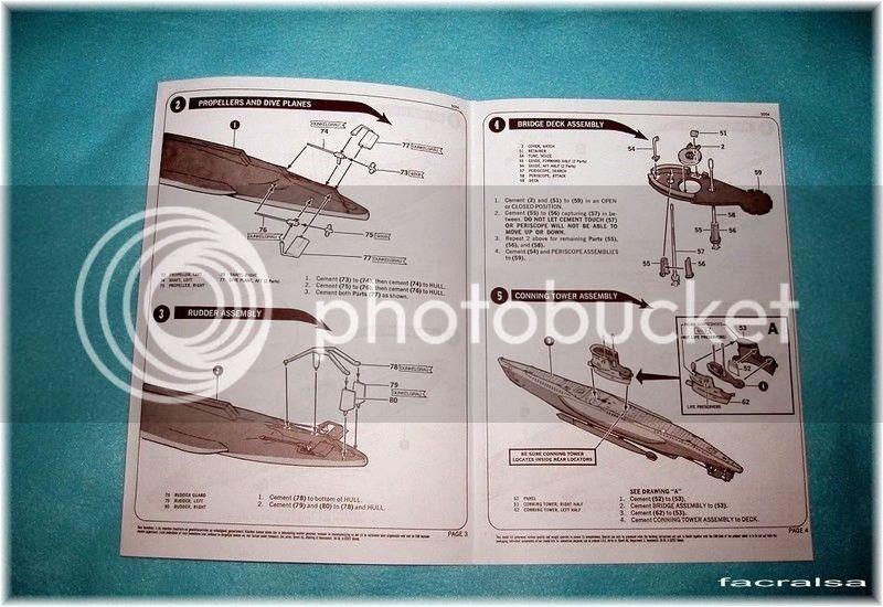 GERMAN SUBMARINO U-99 (Revell 1/125) U-99%2007