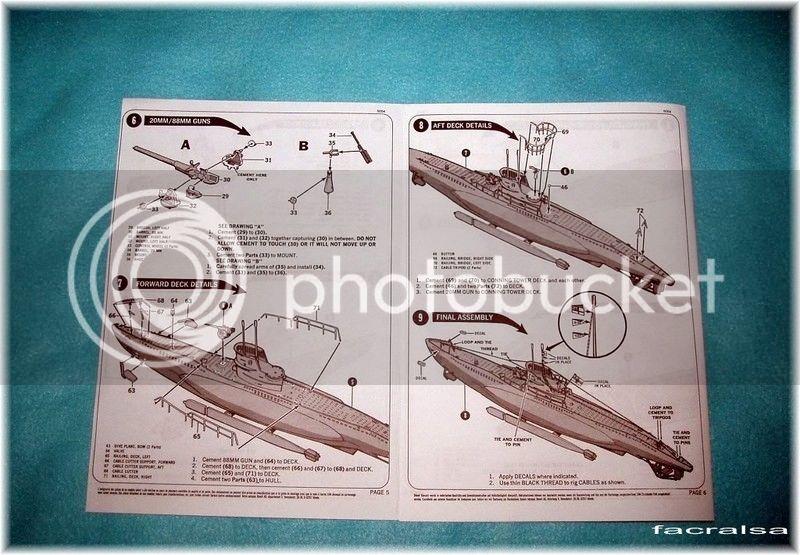 GERMAN SUBMARINO U-99 (Revell 1/125) U-99%2008