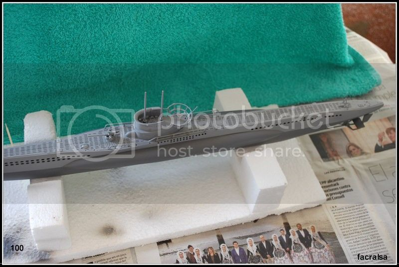 GERMAN SUBMARINO U-99 (Revell 1/125) U-99%20100