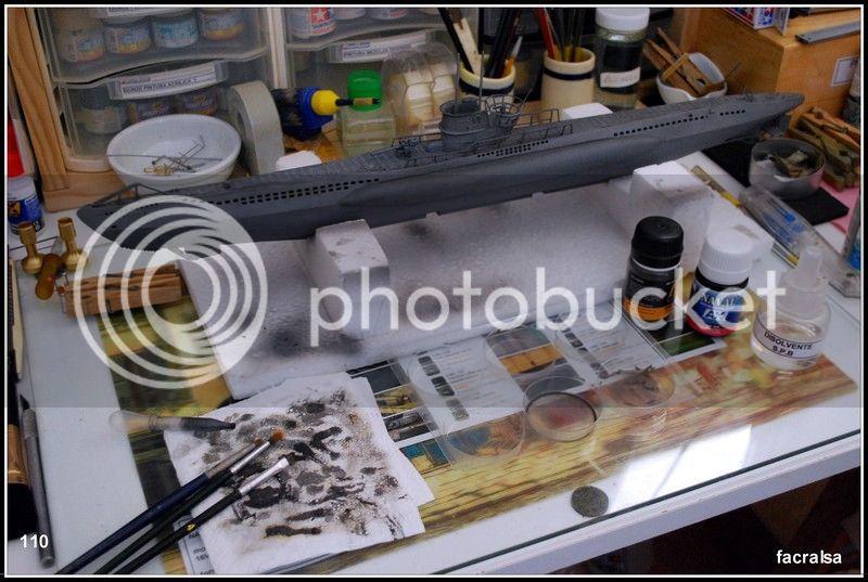 GERMAN SUBMARINO U-99 (Revell 1/125) U-99%20110