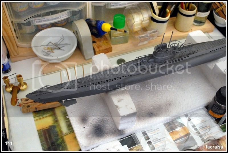 GERMAN SUBMARINO U-99 (Revell 1/125) U-99%20111