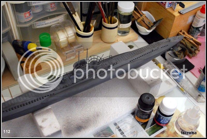 GERMAN SUBMARINO U-99 (Revell 1/125) U-99%20112