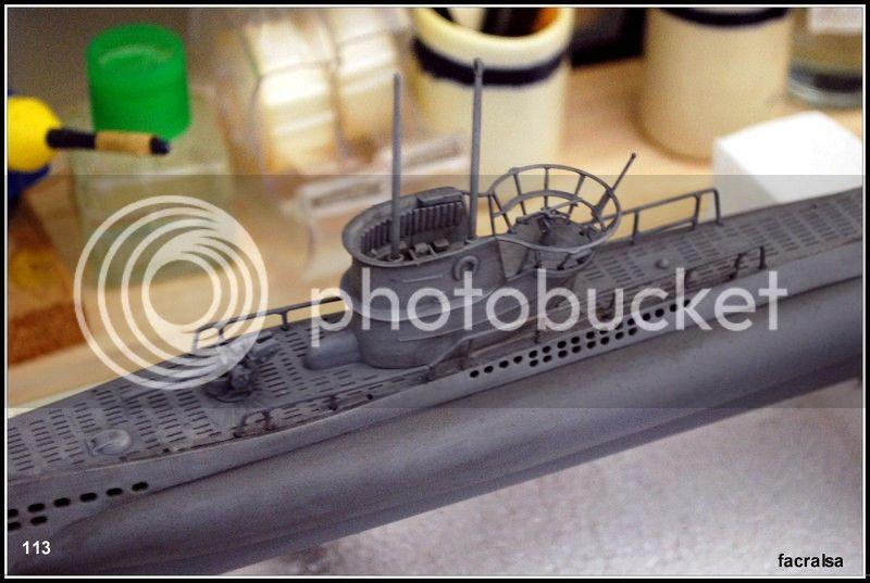 GERMAN SUBMARINO U-99 (Revell 1/125) U-99%20113