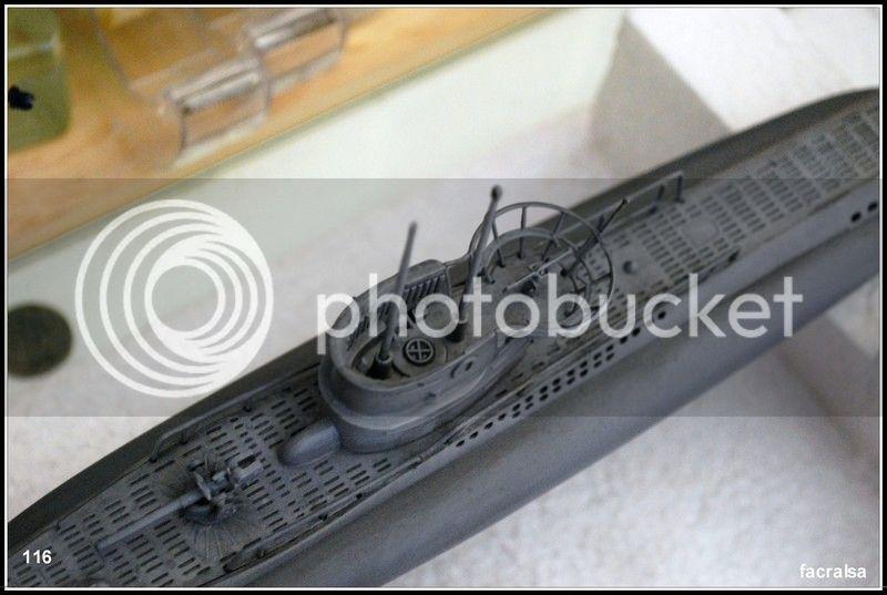 GERMAN SUBMARINO U-99 (Revell 1/125) U-99%20116