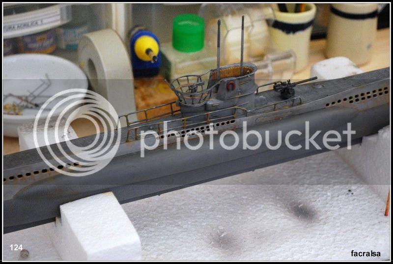 GERMAN SUBMARINO U-99 (Revell 1/125) U-99%20124