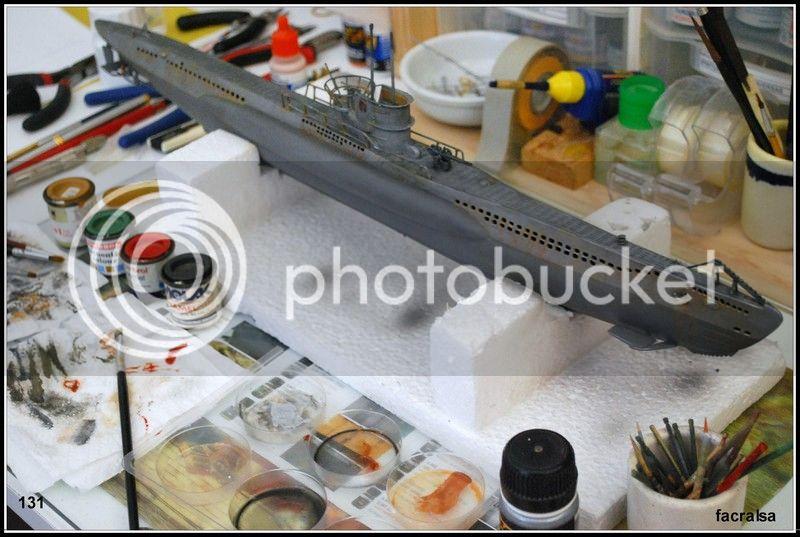 GERMAN SUBMARINO U-99 (Revell 1/125) U-99%20131