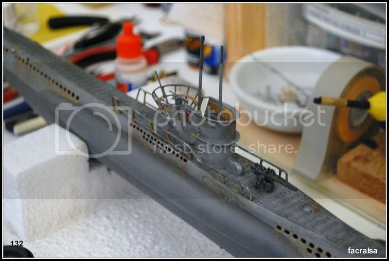 GERMAN SUBMARINO U-99 (Revell 1/125) U-99%20132