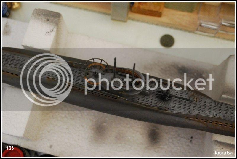 GERMAN SUBMARINO U-99 (Revell 1/125) U-99%20133
